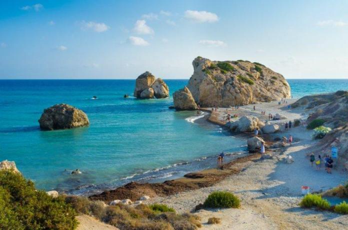 Cyprus, Paphos, Aphrodite Beaches