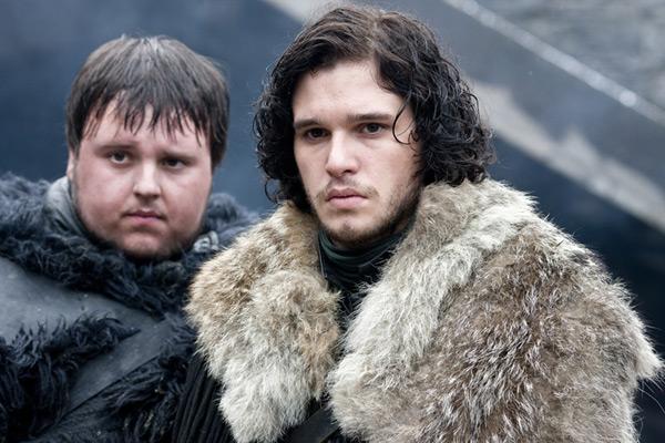 Game of Thrones - John Bradley & Kit Harington