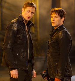 True Blood Episode 4.11 - Alexander Skarsgard, Stephen Moyer