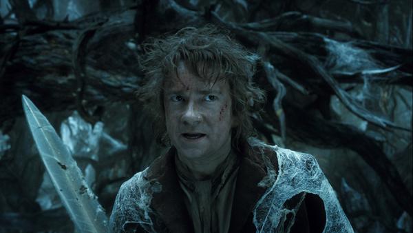 Bilbo contro il cucciolo di ragno