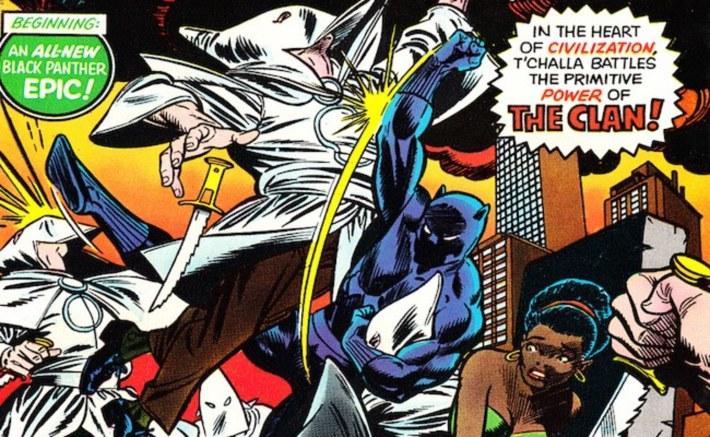 black panther vs ku klux klan