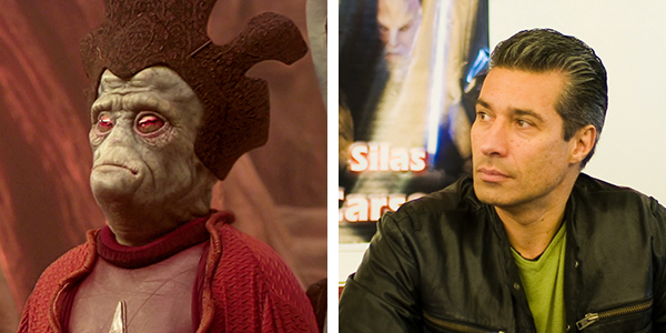 Silas Carson resuming his role as Nute Gunray