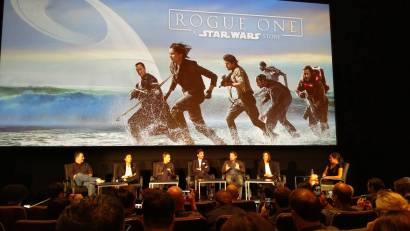 Rogue One press conference