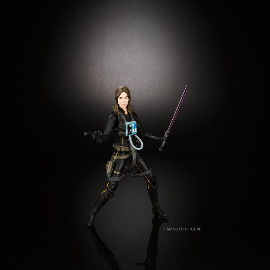 Star Wars Black Series Jaina Solo figure