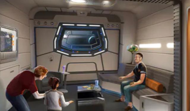 star wars: starcruiser suite