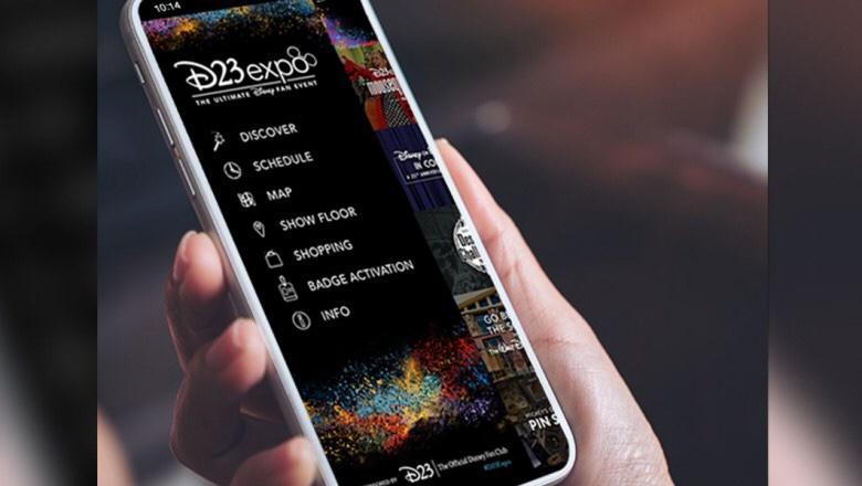 new d23 fan club app