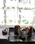 Banana Bread cooling on the windowsill