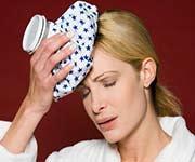 Quitarse el dolor de cabeza con meditación