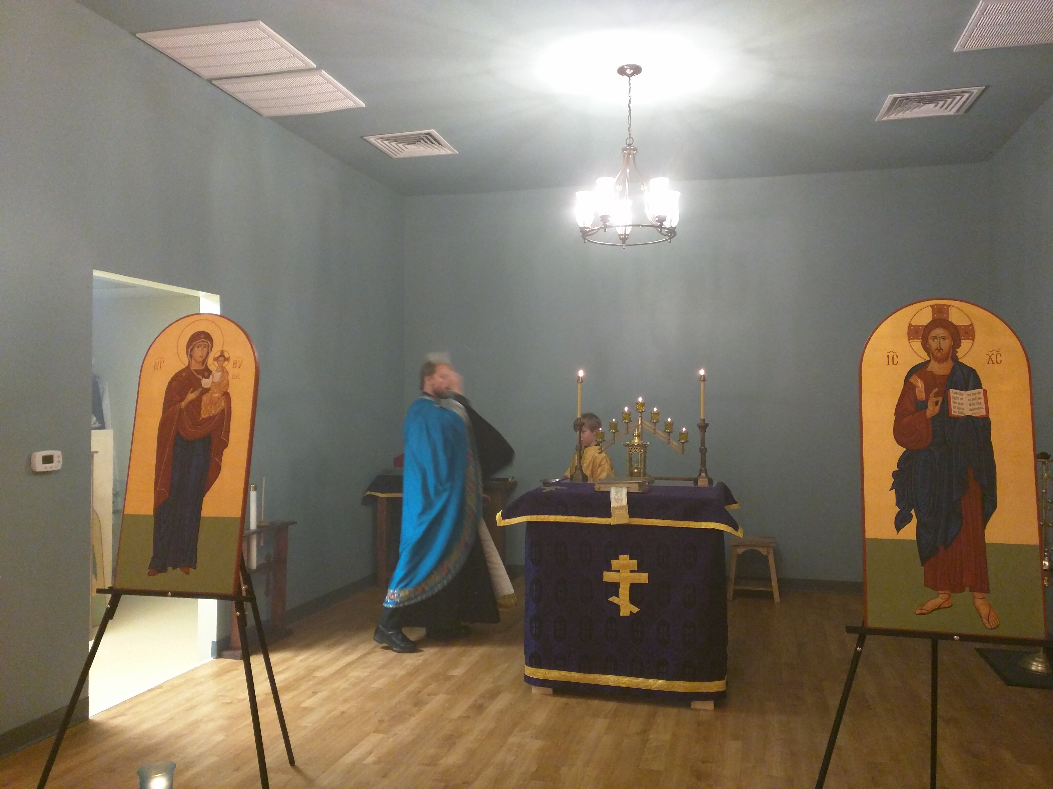 Blessing the Sanctuary