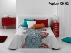 Cuvertura de pat Peplum