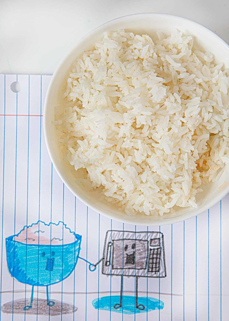 perfect microwave white rice