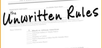 "the Unwritten Rules: Ep. 1 ""First Day"""