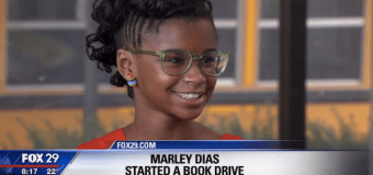 11-Year Old Marley Dias Starts #1000BlackGirlBooks Drive