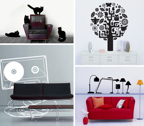 wall stickers creative fun design