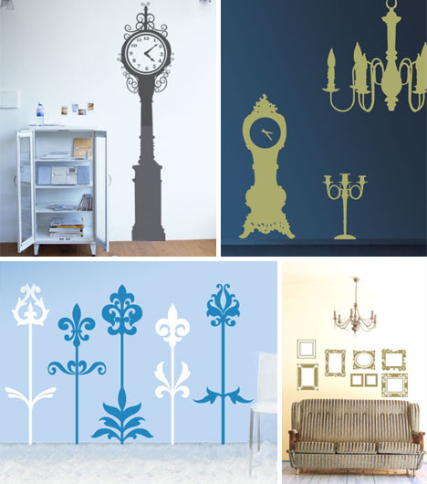 wall stickers vintage retro