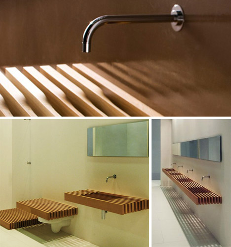 Stealth Bathroom Wood Shelves Hide Secret Toilets Amp Sinks