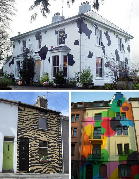 10 Crazy House Paint Ideas | Designs & Ideas on Dornob on Painting Ideas For House  id=93769