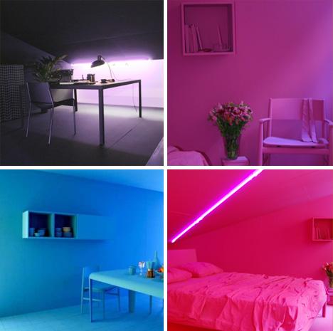 Powerful Monochromatic Interior Paint | Designs & Ideas on ... on Room Painting id=65182
