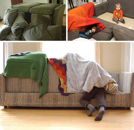 Pillow Fort Architects 10 Sofa Sheet Amp Cushion Structures