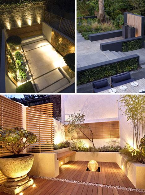 London Yard: 7 Grassless Gardens for Modern Urban Homes on Grassless Garden Ideas  id=28124