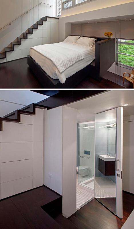 Micro Condo New York Loft Makes 425 Sq Ft Feel Spacious