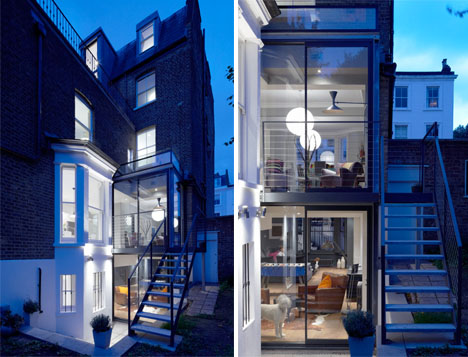 Glass Expansion Updates 1870s London Townhouse