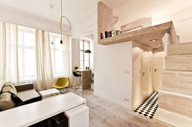Clever Tiny Apartment Design