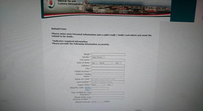 Csalók küldenek értesítéseket a NAV nevében