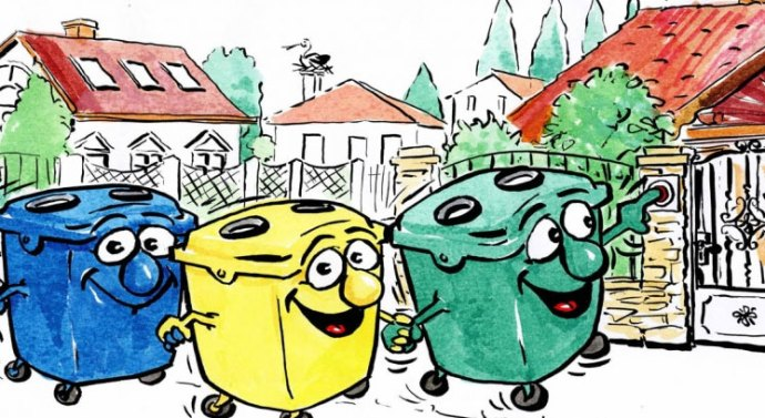Szelektív hulladékgyűjtés márciusban
