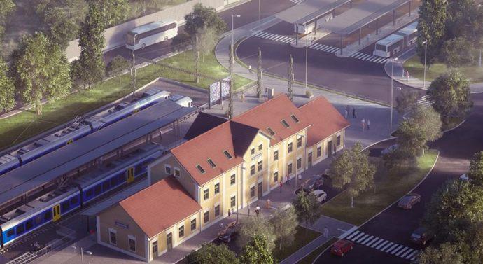 Megújul az esztergomi vasúti csomópont