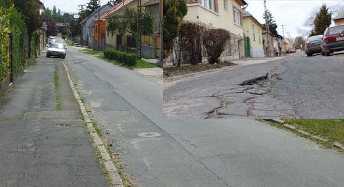 Idén még nem újítják fel dorogi Bimbó utcát