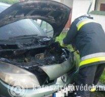 Avartűz Dorogon, baleset Nagysápon, égő autó Tokodaltárón