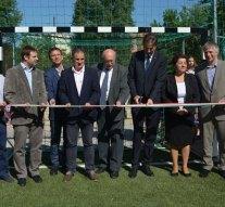 Esztergom új focipályával gazdagodott