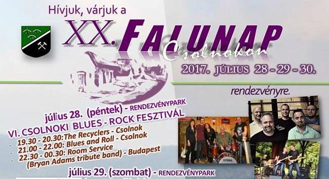 XX. Falunap Csolnokon
