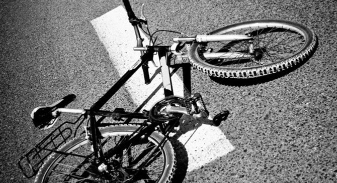 Súlyos sérüléseket szenvedett egy dorogi kerékpáros
