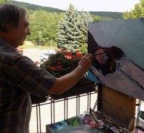 Kovácspatak várta a Duna két partjáról érkező alkotóművészeket
