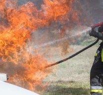Egy lángoló autóhoz siettek az esztergomi tűzoltók