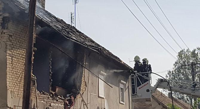 Felrobbant egy lakás Tokodon
