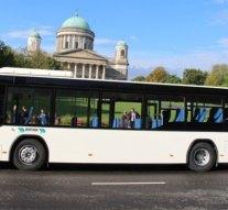 Új autóbuszok érkeztek Esztergomba