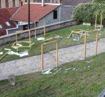 Gyerekek verték szét Esztergom első szabadtéri kiállítását