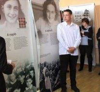 Anne Frank kiállítás nyílt Dorogon