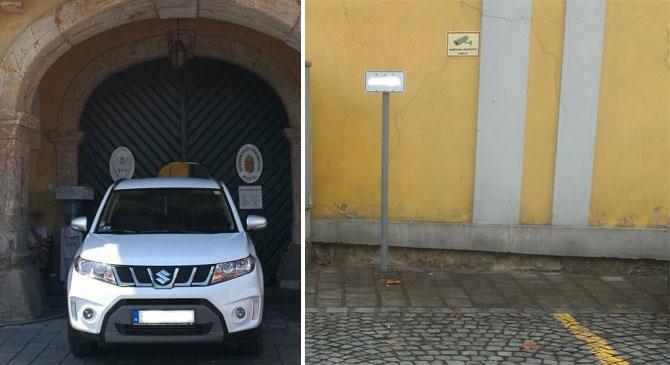 Az esztergomi polgármester parkolási szokásiról ír az iGOM