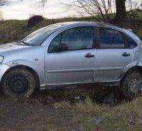 Bajnai árokban landolt a Citroën