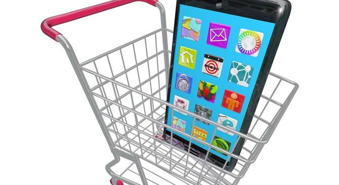 Bevásárlókosárban felejtett telefont nyúlt le