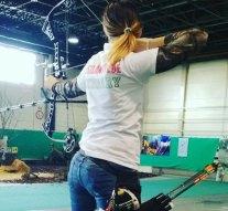Csigás íjjal nyert világversenyt egy dorogi lány