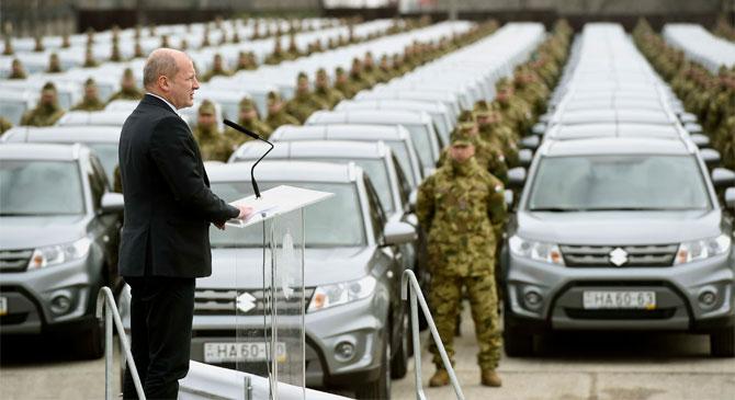A Magyar Honvédség is az esztergomi gépjárműveket választotta