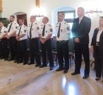 Jutalmazták a nyergesújfalui rendőröket