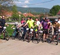A dorogi kerékpárosok is részt vettek a Cestölc Critical-on