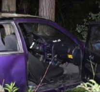 Hárman sérültek meg egy autóbalesetben a 117-esen
