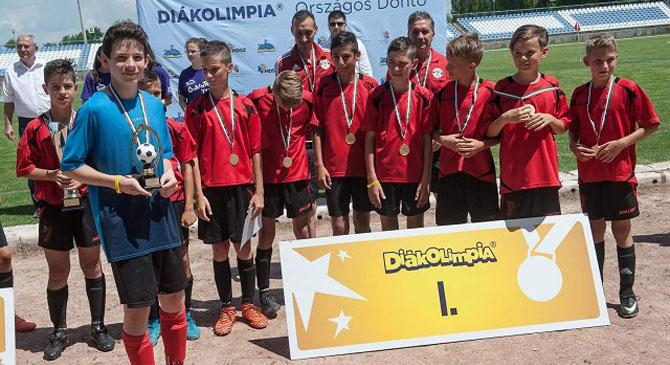 Magyarország legjobb diák focicsapata a dorogi lett!